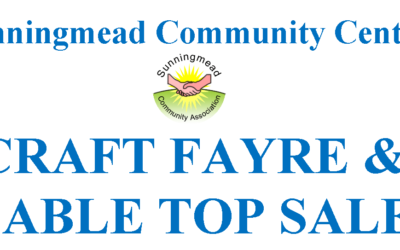 Craft Fayre Feb 15th 2020