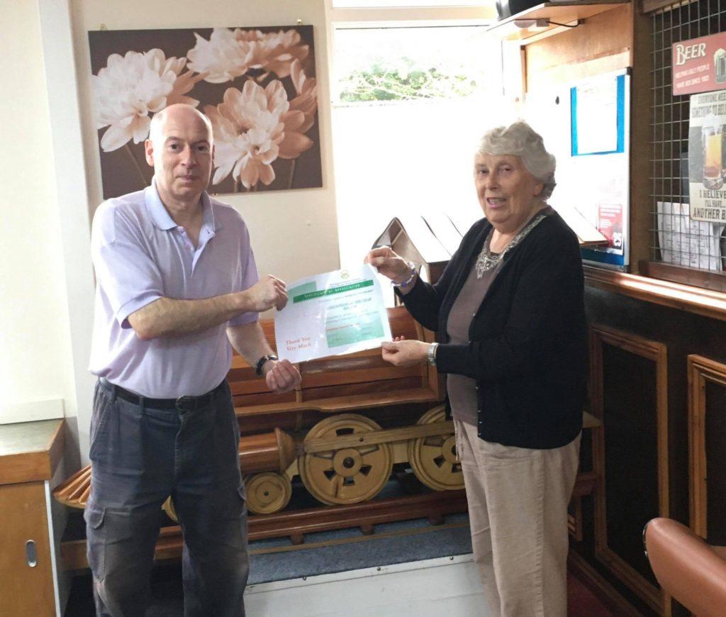 Mark Rattenberry winning volunteer of the year 2020